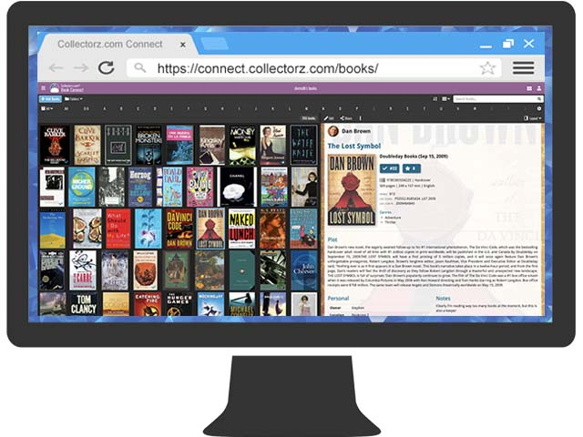 book database software catalog your home library collectorz com
