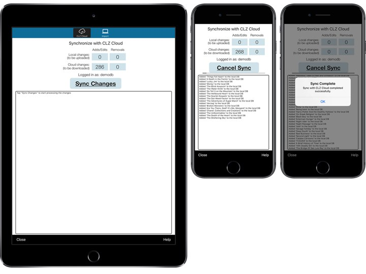 Book database app for iPhone, iPad and Android » CLZ Books