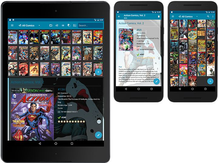 Comic database app for for iPhone, iPad and Android » CLZ