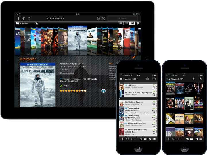 movie cataloging app for iphone ipad and android clz movies