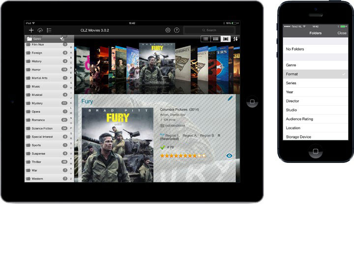 Movie cataloging app for iPhone, iPad and Android » CLZ