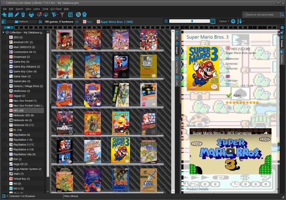 Game Collector desktop software - Catalog video games on