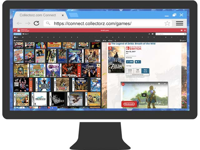 Game Database Software, organize your video game collection