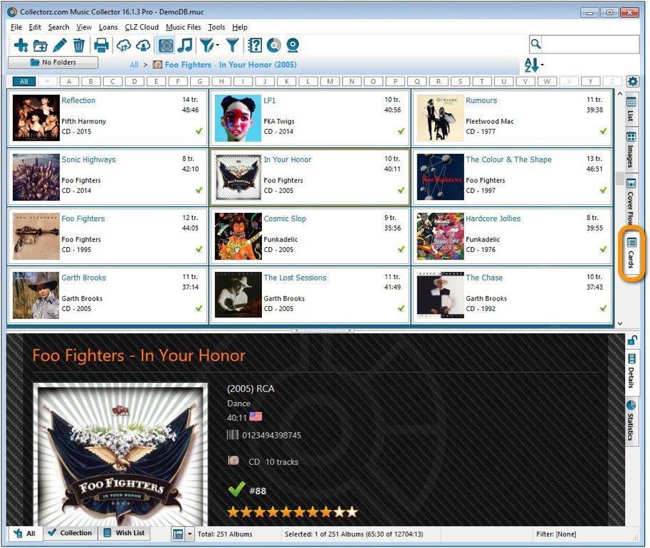 Music Collector Desktop Software Catalog Cds And Vinyl